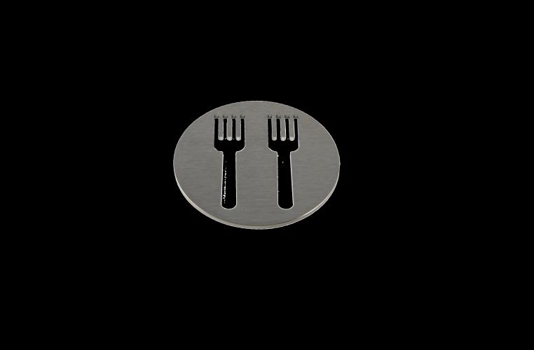 Pictograma 4000 dos tenedores